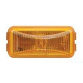LED Amber Clearance Light w/ Black Bezel