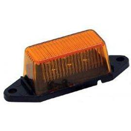 LED Amber Ear Mount Clearance Light With Hardware