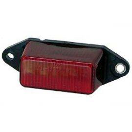 LED Red Ear Mount Clearance Light With Hardware