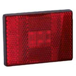LED Red Stud Mount Clearance Light With Hardware