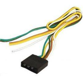Trailer 4-Way Female Wire Connector