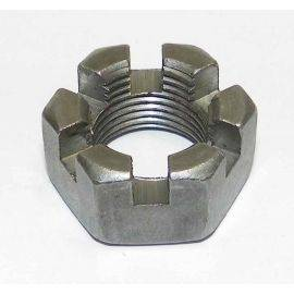 Axle Nut Slotted Hex
