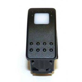 Lighted Rocker Switch Dimpled W/Indicator Labels