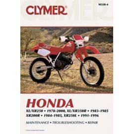 Honda 200 / 250 / 350 1978-2000 Manual