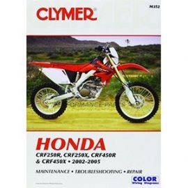Honda 250 / 450 CRF-R / CRF-X 2002-2005 Manual