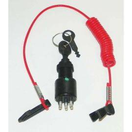 Johnson / Evinrude Ignition Switch W/Lanyard