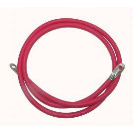 2 Awg Red Battery Cable 4 Ft