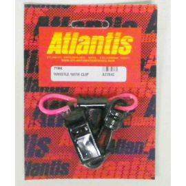 Whistle With Clip Pink
