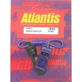 Whistle With Clip Purple