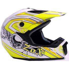 Roost X Gothic Silver/Yellow Helmet