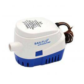 Automatic Bilge Pump - 750 GPH - 3/4 in. hose