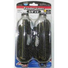 Polypropylene Fender Whips - Black