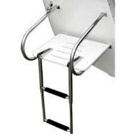 Telescopic Over Mount Ladder - 2 Step