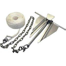 Anchor Kit - Chain / Rope / 10 Slip Ring Anchor