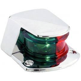 Bow Light Bi-Color Chrome Plated Zamac