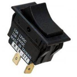 Rocker Switch Mom / Off - 2 Terminal