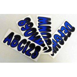 ID Sticker Kit 200 Series Baby Blue