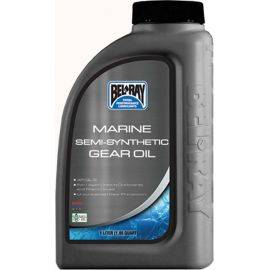 Marine Semi-Synthetic 80W-90 Gear Oil - 1 Liter Bottle