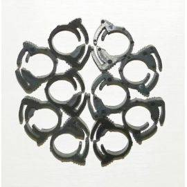 Snapper Clamps 0.410-0.468 Size 4 Pack of 10