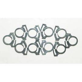 Snapper Clamps 0.538-0.608 Size 8 Pack of 10