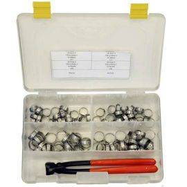 Oetiker Clamp Kit 5/8'' / 25/32'' 15.7mm / 19.8mm