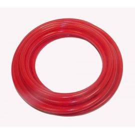 1/4 inch X 25' Polyeurethane Braided Hose - Red