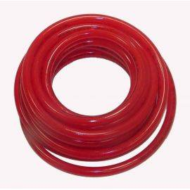 3/8 inch X 25' Polyeurethane Braided Hose - Red