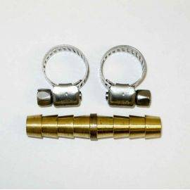 Hose Mender W/ Clamps -5/16 inch X 5/16 inch
