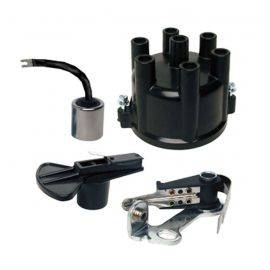 Mercruiser / OMC Distributor Cap & Rotor - Points & Condenser