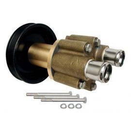 Mercruiser Sea water pump assy. - serpentine pulley - bronze