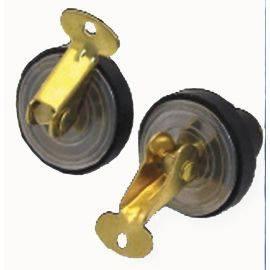 Bailer / Baitwell Brass Plug - Pair