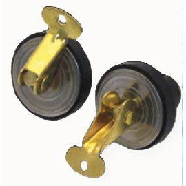 bailer / baitwell messing plug - pair