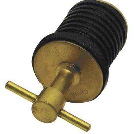 Drain Twist Plug - Brass