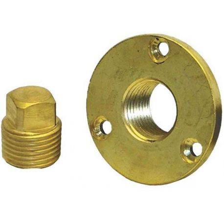 Garboard Plug Kit Brass