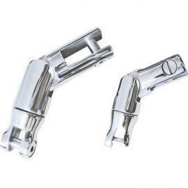 Ankersvirvel til kæde 10 - 12mm med knækled