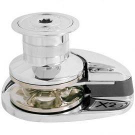 Ankerspil x2 alu 12v1000w højincl relæboks 5-16 kædehjul