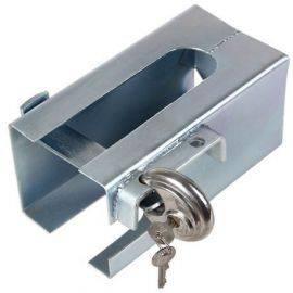 Trailer kasse lås med diskus lås 230x110x110mm