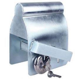 Trailer kasse lås med diskus lås, kan låses på bilen