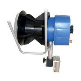 Garnhaler m/plast trommel t/planmontering 12v