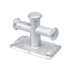 Bro pullert galvaniseret enkel 105 x 60mm
