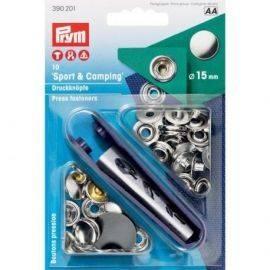 Trykknapper RF Ø15mm 10stk med værktøj