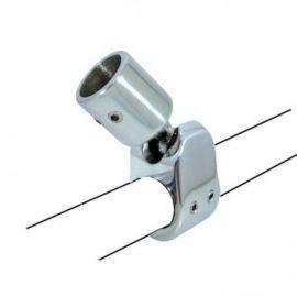 Kaleche søgelænderbeslag ø22mm316 rustfrit stål