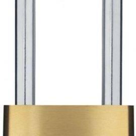 Abus kode hængelås messing med høj RF bøjle 50mm