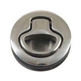 Dørkbeslag m-fjeder ø61mm dybde 20mm støbt rustfrit stål