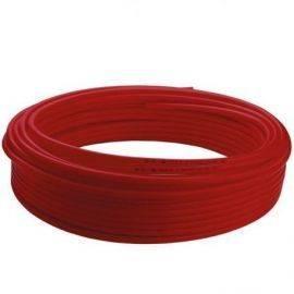 Rød slange udvendig 15mm indvendig 11mm max 60° John Guest