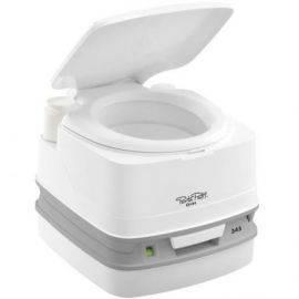 Porta potti toilet qube 345 hvid