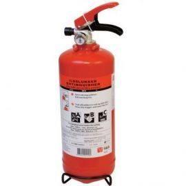 Falck ildslukker 2 kg abc13a 89b c med beslagsolas godkendt