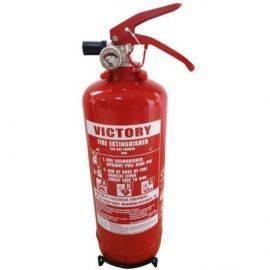 1852 ildslukker 2kg 13A 89B C med beslag. Solas & CE godk.