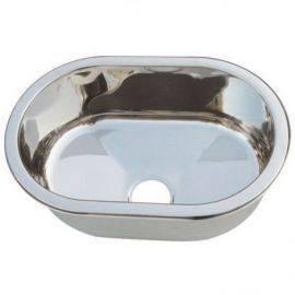 Vask oval r-s 265 x 40cm