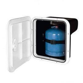 Nuova rade hvid gas beholder til 3 kg gasflasker397x356mm dybde 240mm